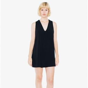 American Apparel V-Neck Tunic Dress
